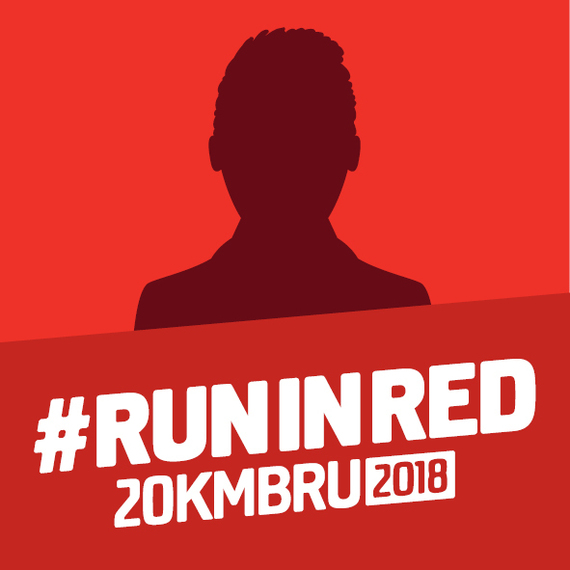 I RUN for RED