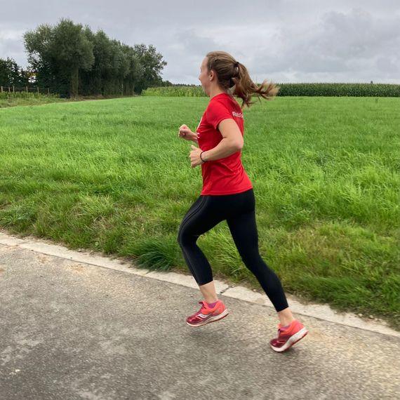 Aurelie court les 20km