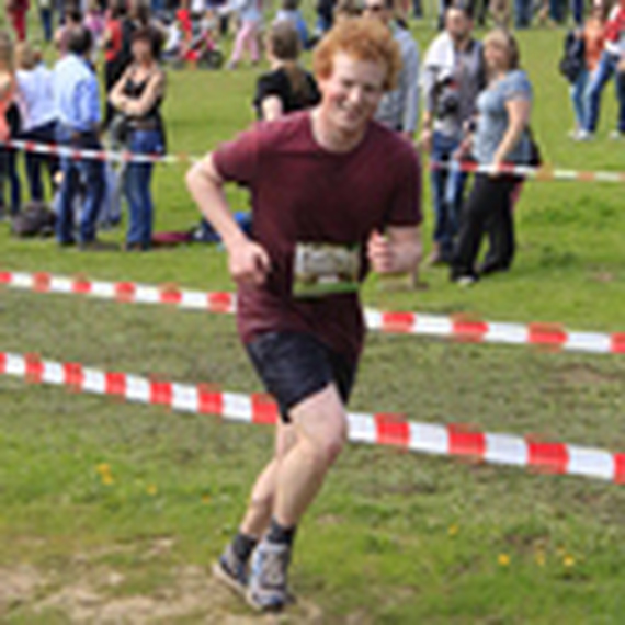 Niels loopt 20 km