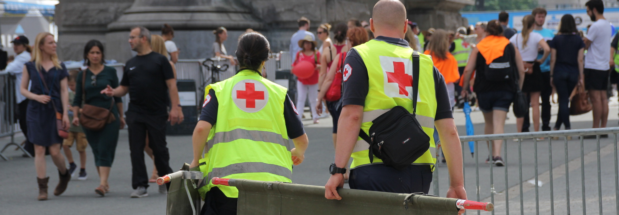 Pourquoi courir les 20km de Bruxelles avec la Croix-Rouge