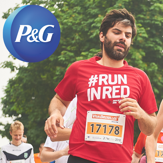 P&G run in Red
