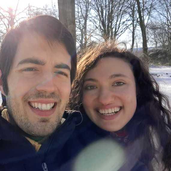 Francisco & Alice courent pour la croix rouge/corren por la cruz roja
