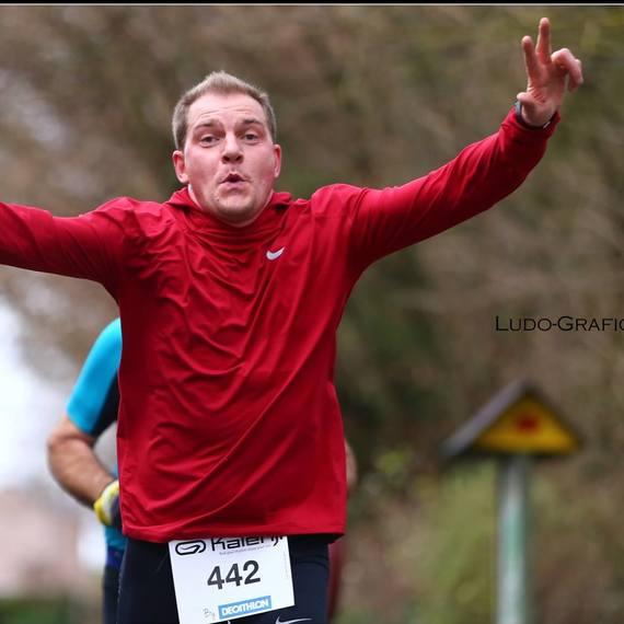 Hervé RUN 20KM BXL pour La CROIX ROUGE