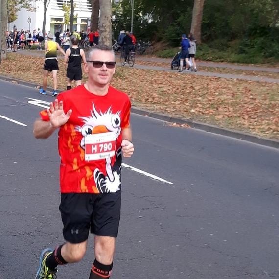 Je courre pour la Croix Rouge
